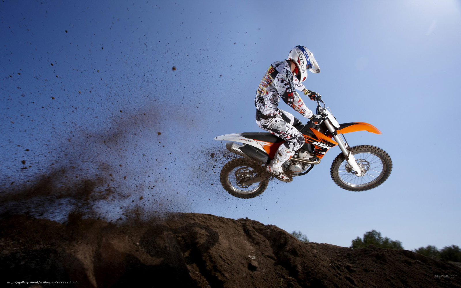 Download wallpaper KTM Motocross SX 350 SX F 350 SX F 2011 1600x1000