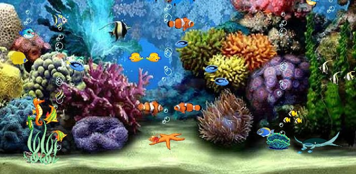 Aquarium 3D Live wallpaper download For android Androidours 705x344