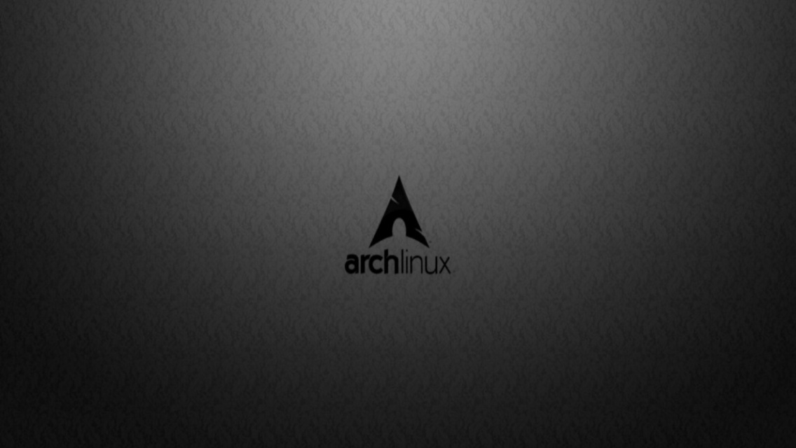 Dark Linux Wallpapers Widescreen Dark vision arch linux 1136x640