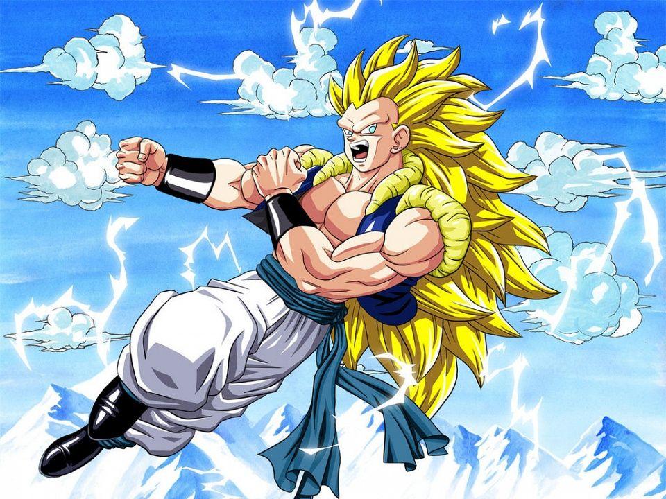 SSJ3 Adult Gotenks Anime Dragon ball Dragon ball z Dragon images 960x720