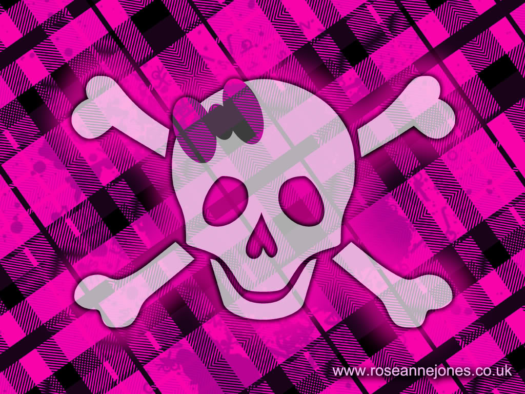 Pink skulls wallpaper Clickandseeworld is all about FunnyAmazing 1024x768