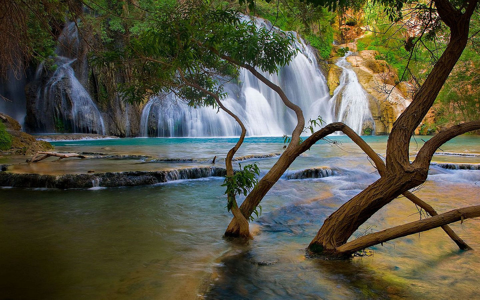 waterfall wallpapers category of hd wallpapers desktop waterfalls 1680x1050