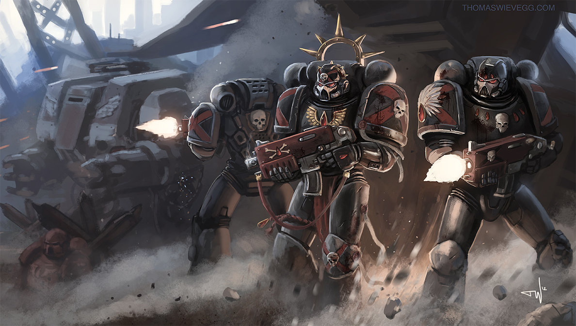 Warhammer 40K Death Company by thomaswievegg 1188x673