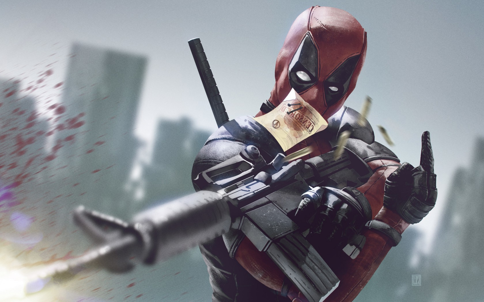 Marvel Deadpool Ryan Reynolds HD Wallpapers   New HD 1680x1050