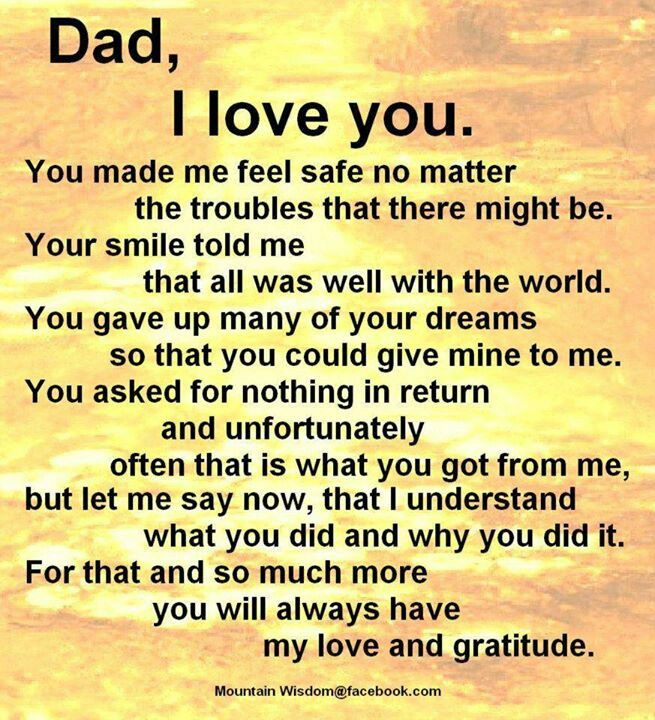Miss You Dad Quotes 655x720
