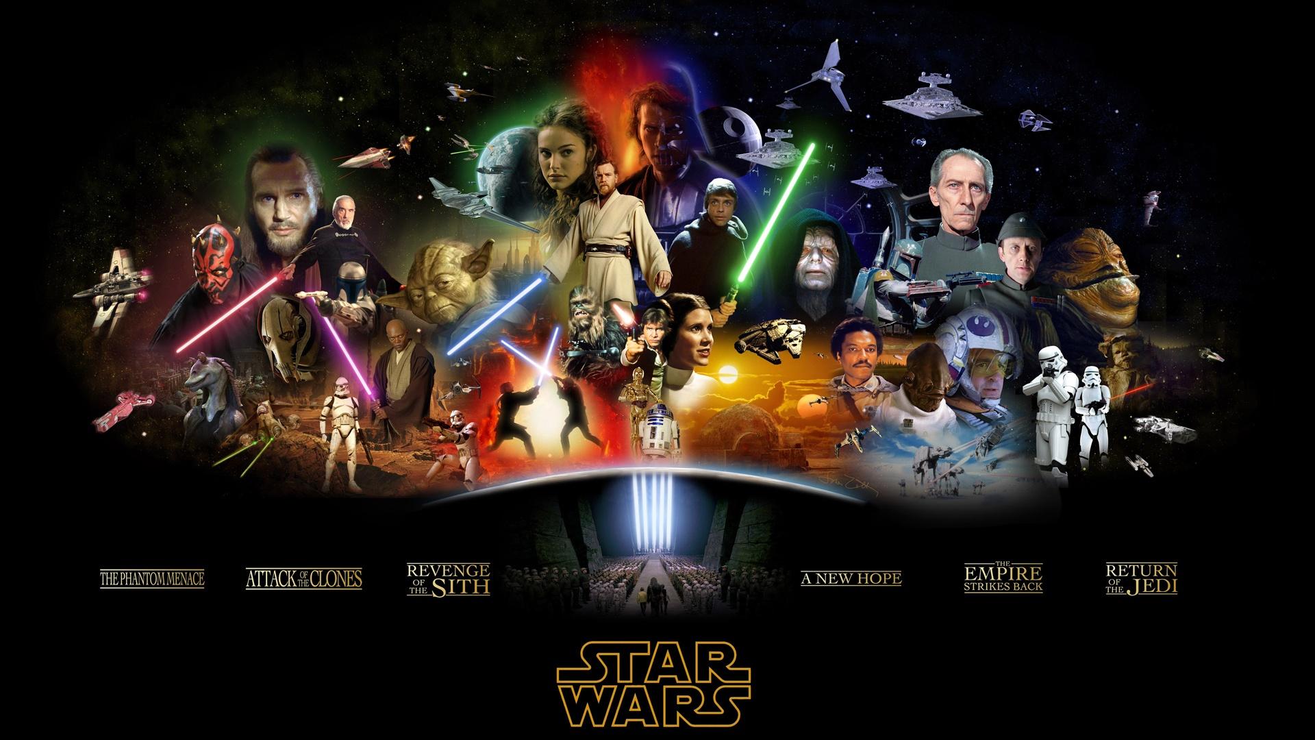 46 Star Wars Hd Wallpaper 1920x1080 On Wallpapersafari