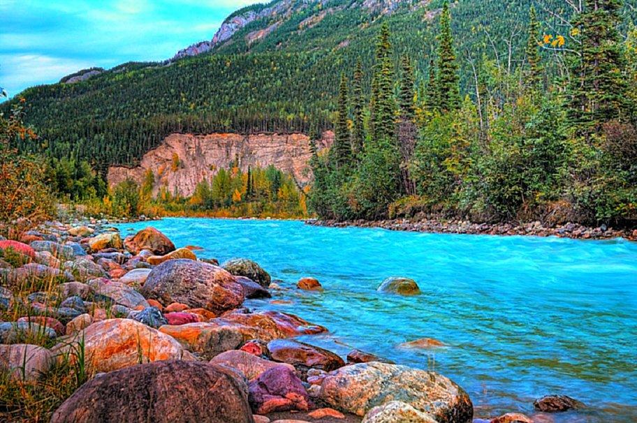 River And Rocks wallpaper   ForWallpapercom 912x606