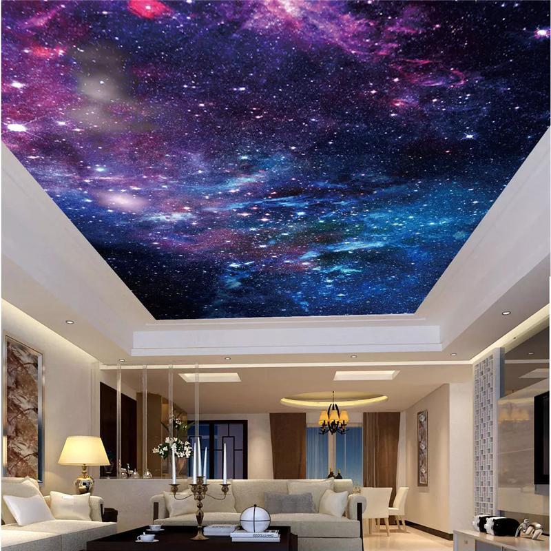 Compre Techo Wallpaper Personalizado Saln Dormitorio Wallpaper 800x800