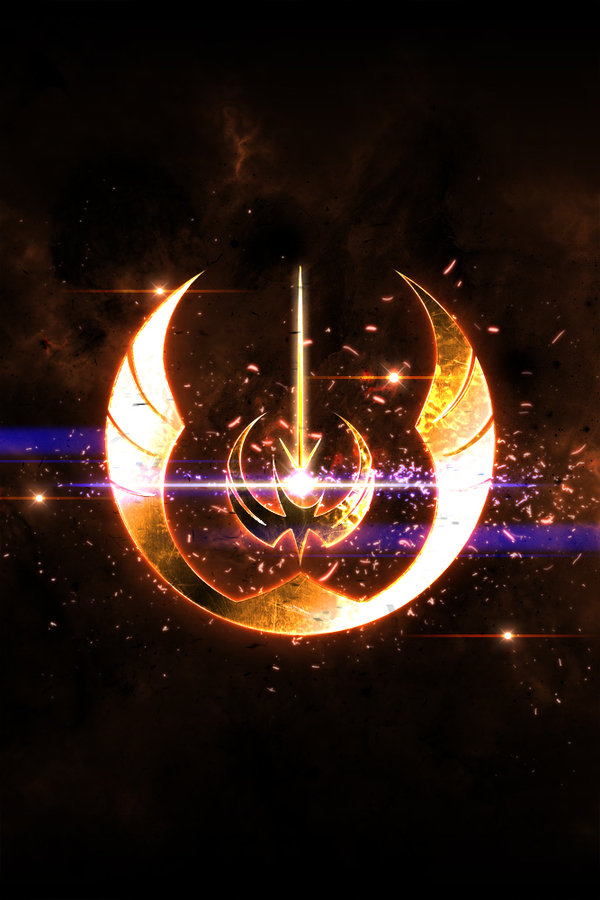 Custom Jedi Order Logo by GuardianoftheForce 600x900