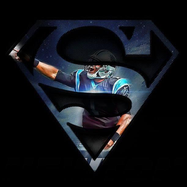 Cam Newton Superman My Team Pinterest 612x612