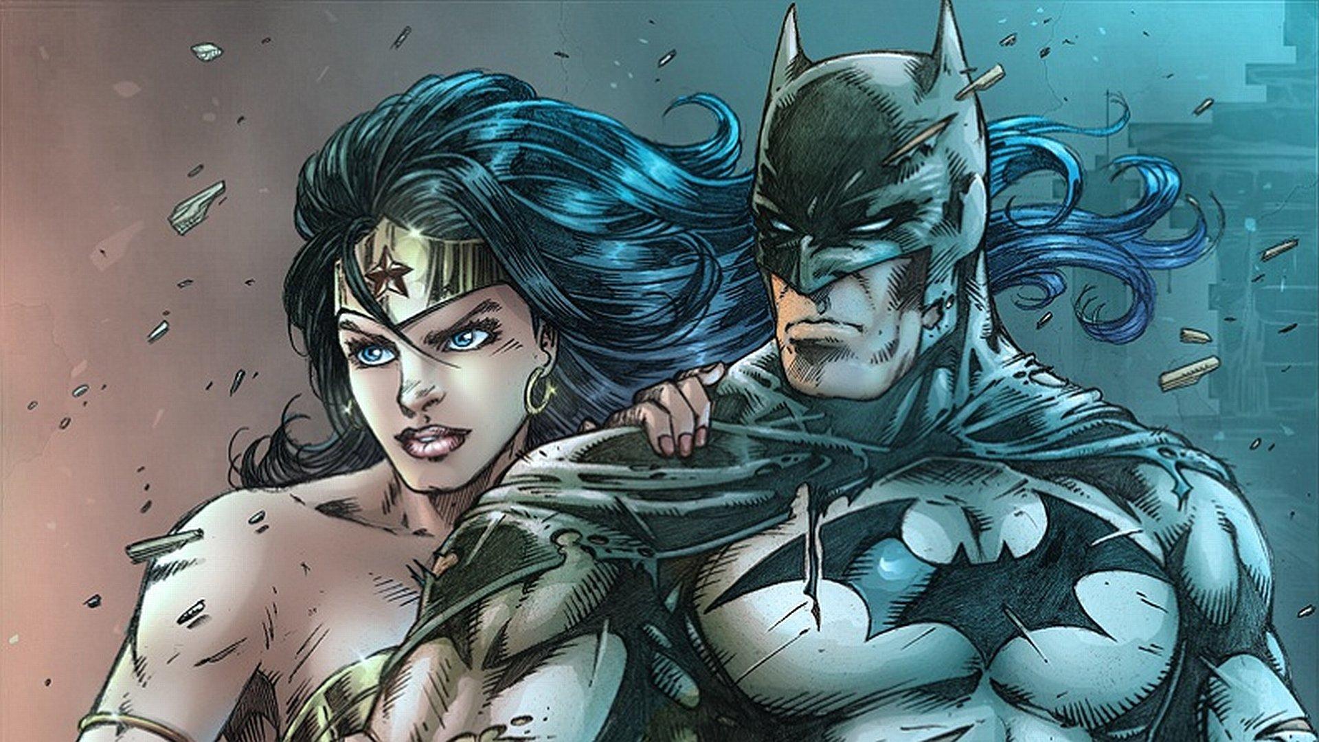 Free Wonder Woman Wallpaper: Batman Wonder Woman Wallpaper