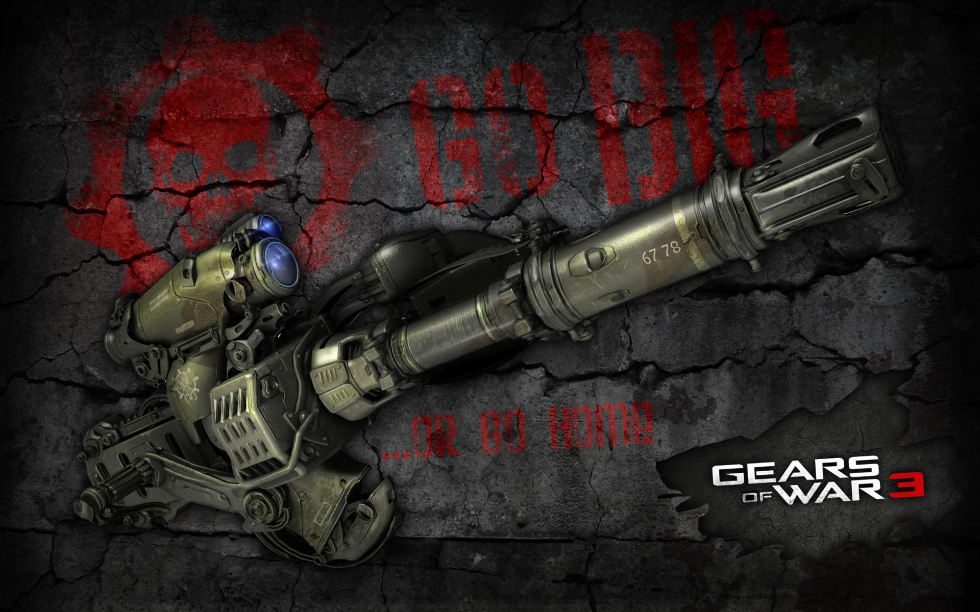 Gears Of War 3 wallpaper   738451 1920x1200