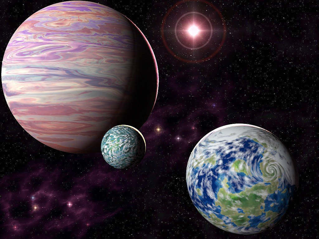 3d wallpaper colorful planets - photo #30