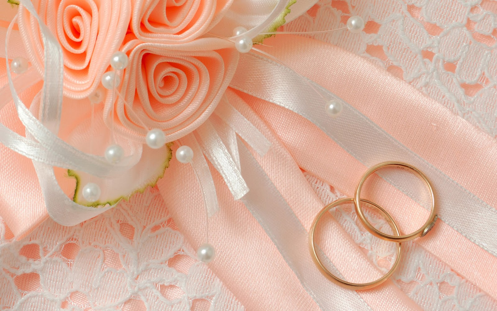 Peach Wedding Ring Background 1600x1000