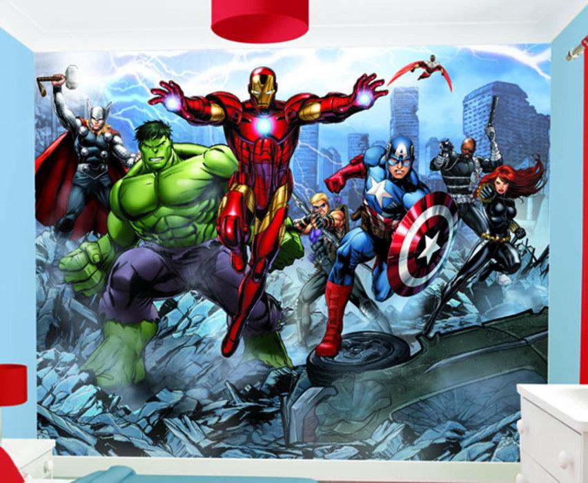 46 Avengers Wallpaper Mural On Wallpapersafari