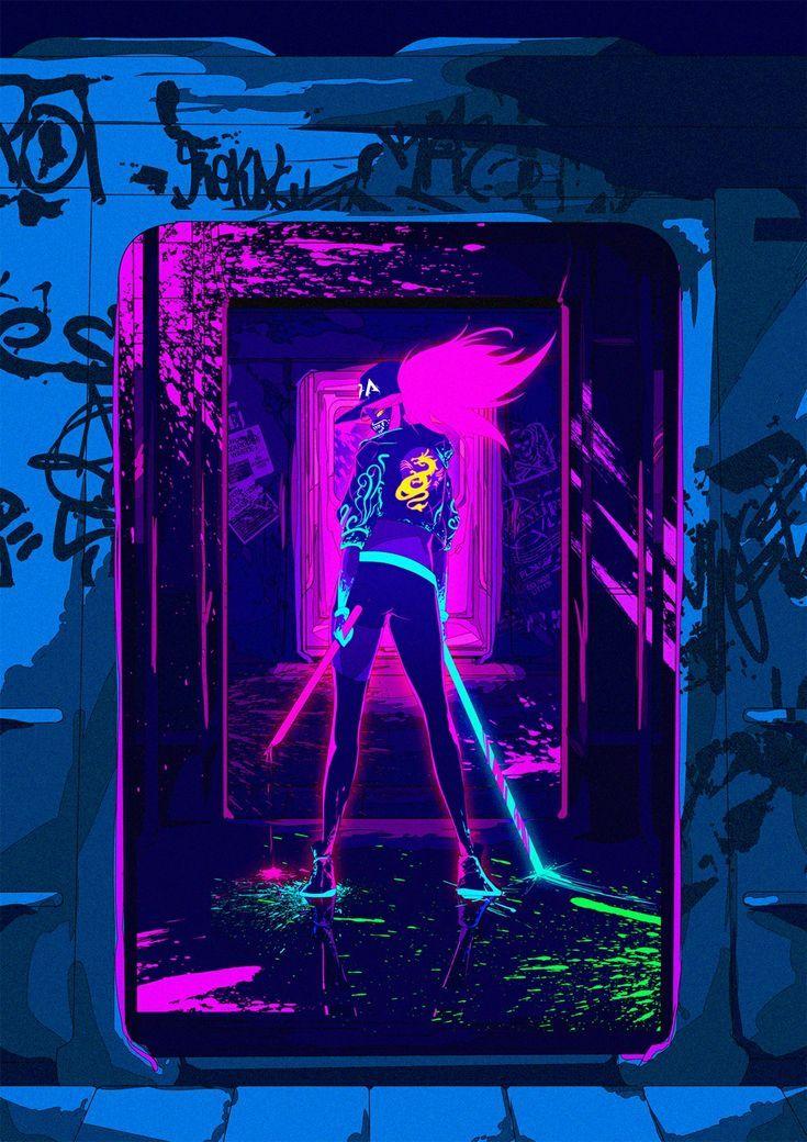 Wallpaper   kda  pop star akali league of legends Wallpaper 735x1040