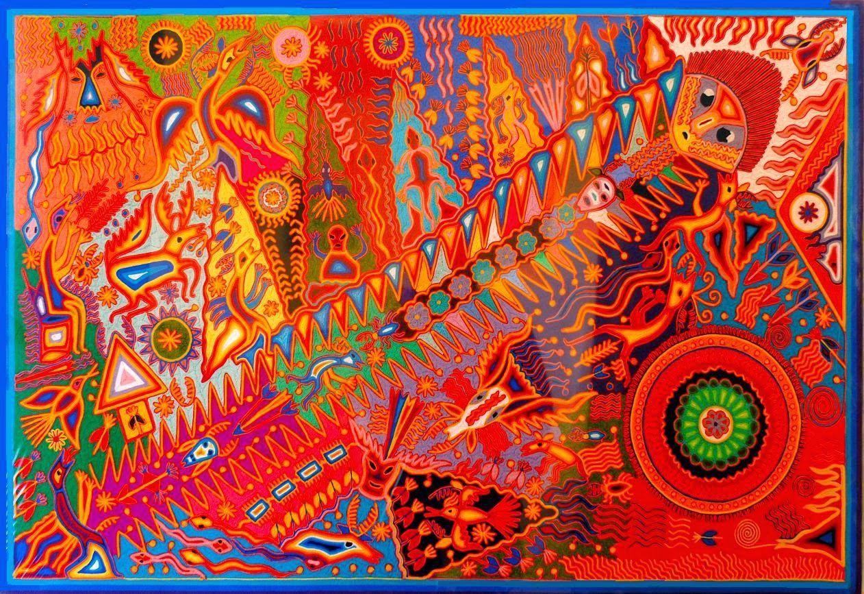 Arte Huichol   nierikas Huichol Tarahumara Otomi Art Fabrics 1262x867