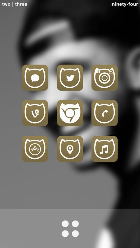Ovo Wallpaper Iphone New sleek ovo theme for ios 7 480x852