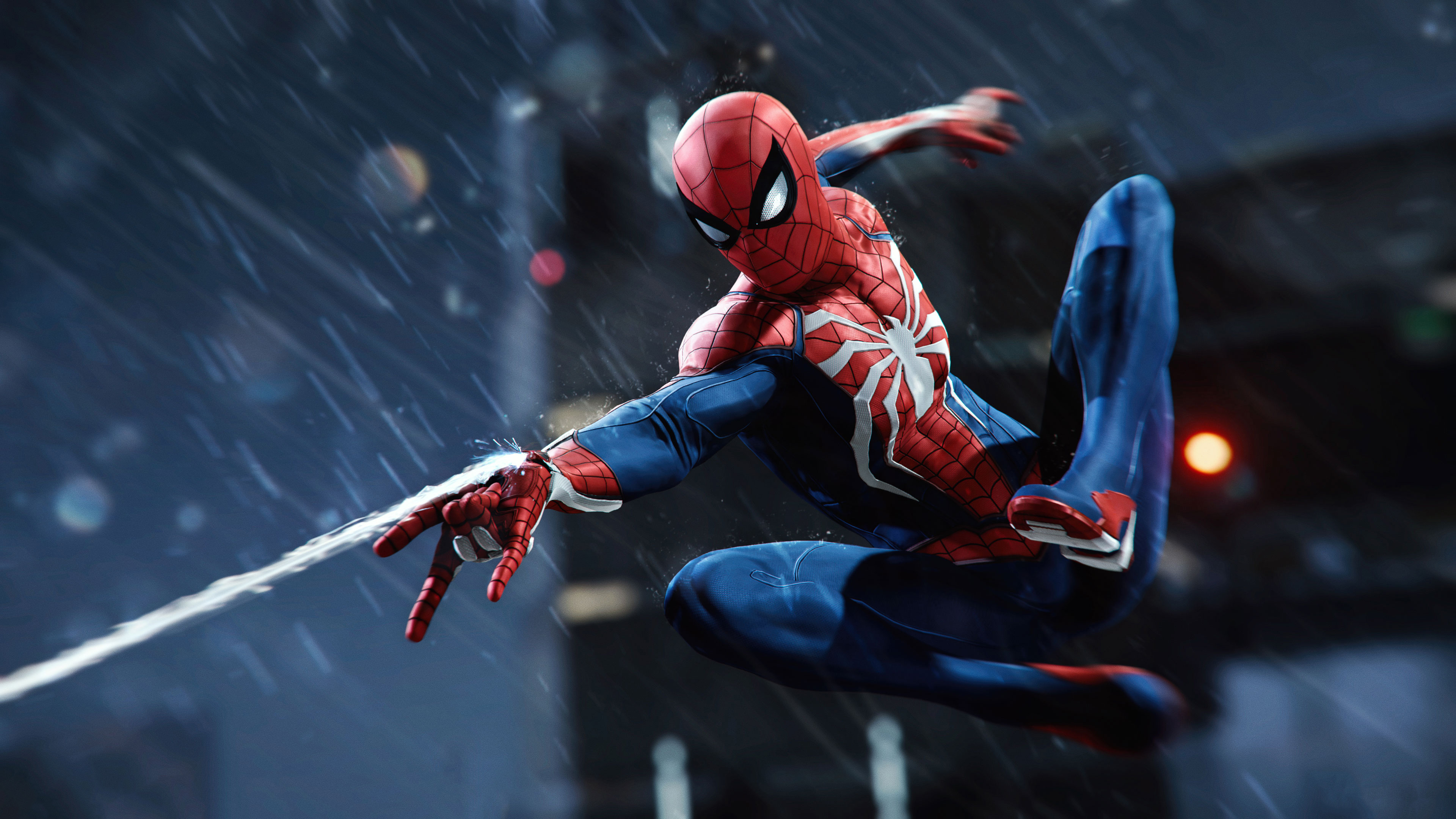 Spider Man PS4 4k Ultra HD Wallpaper Background Image 3840x2160