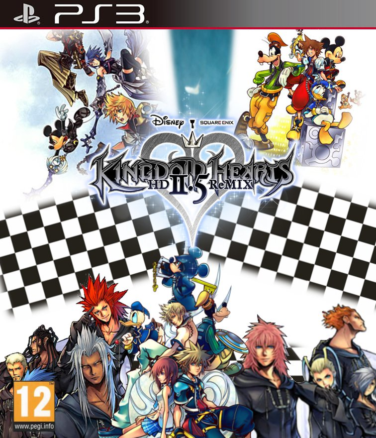 Kingdom Hearts Final Mix 25 HD Remix Fan Made by Miamsolo on 756x880