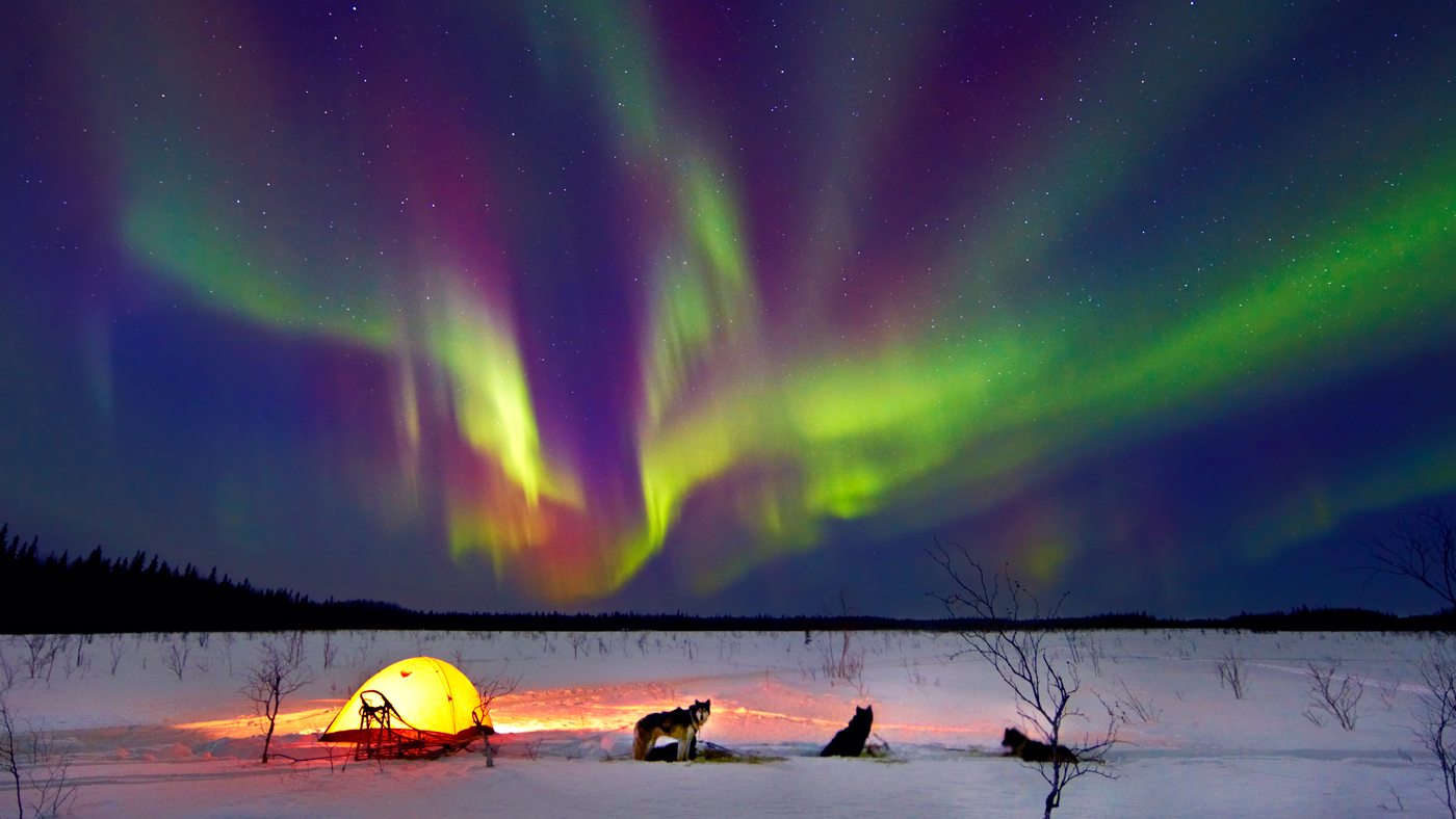Northern Lights Backgrounds - Wallpaper Cave   Alaska Northern Lights Wallpaper