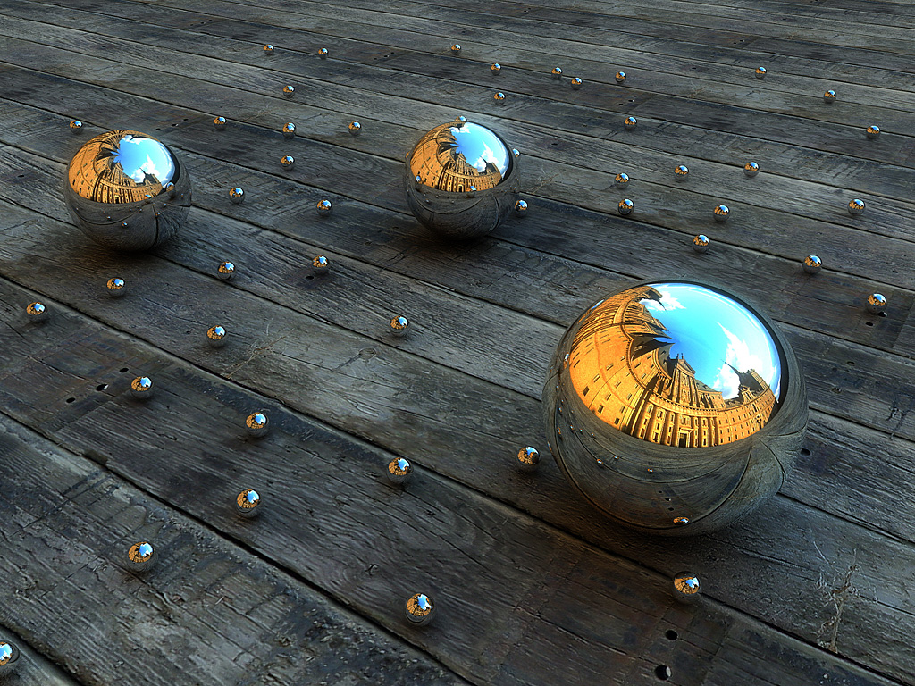 Mirror balls Desktop Wallpapers FREE on Latorocom 1024x768