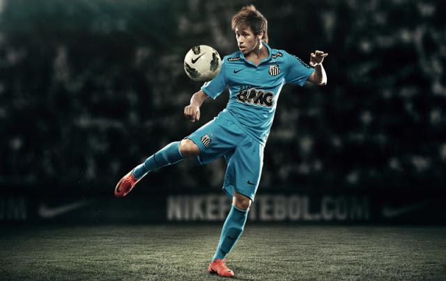Neymar Da Silva Junior Wallpapers HD 2012 2013 with Santos and Brazil 640x404