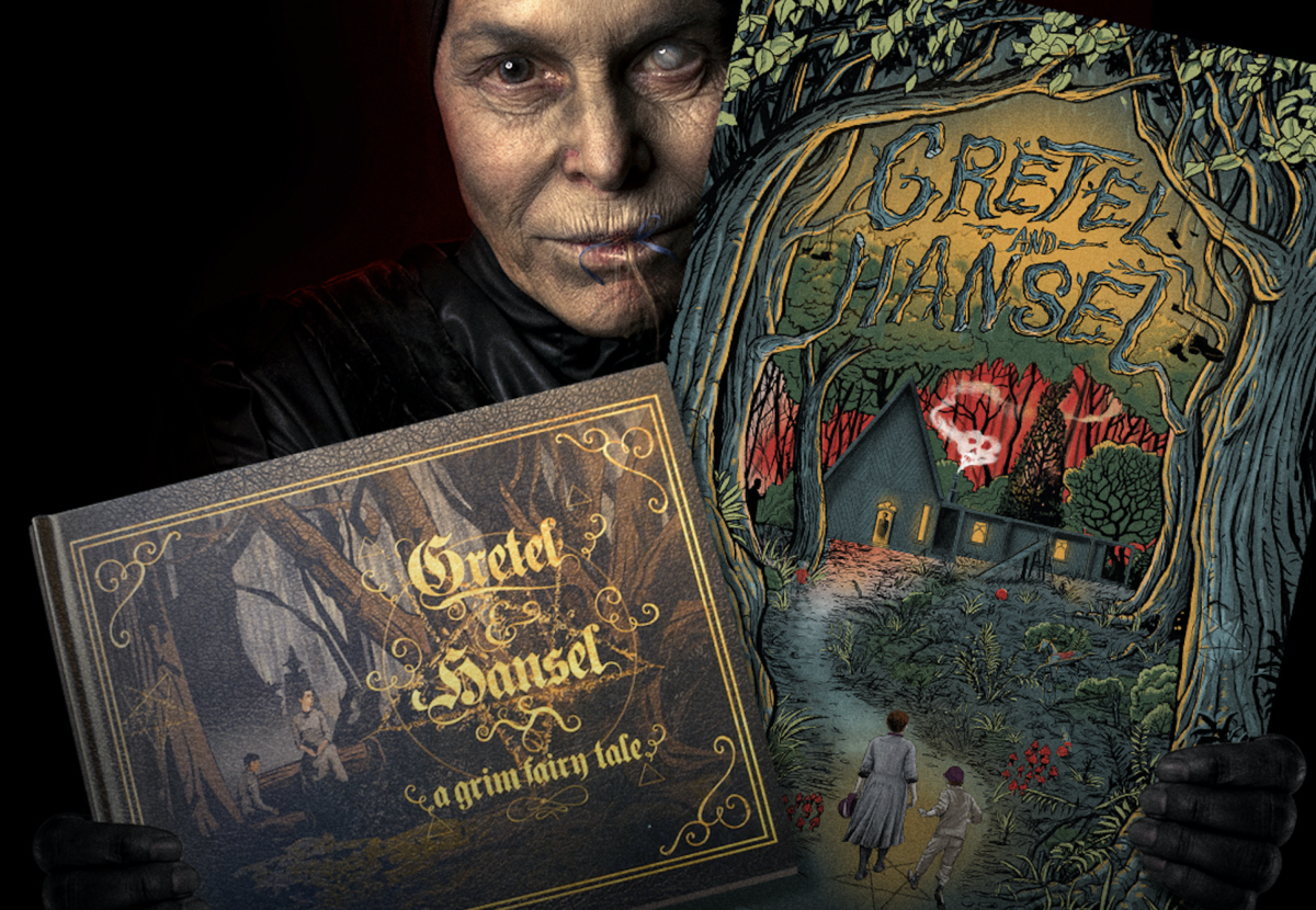 WIN a Limited Edition Gretel Hansel Screen Print and Hardcover 1200x830