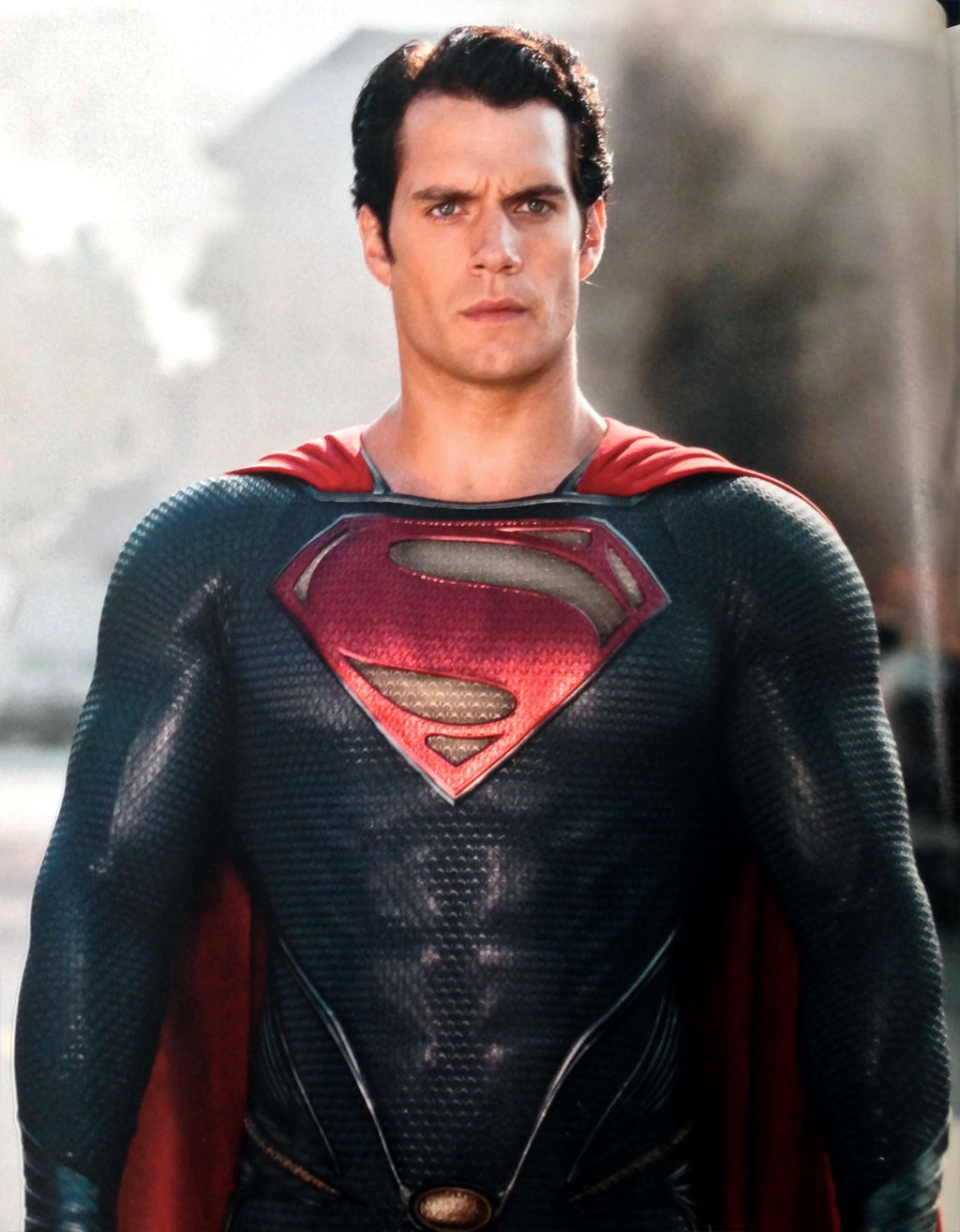 Henry Cavill as Man of Steel in Walmart Official Movie Guide   13ajpg 1024x1314