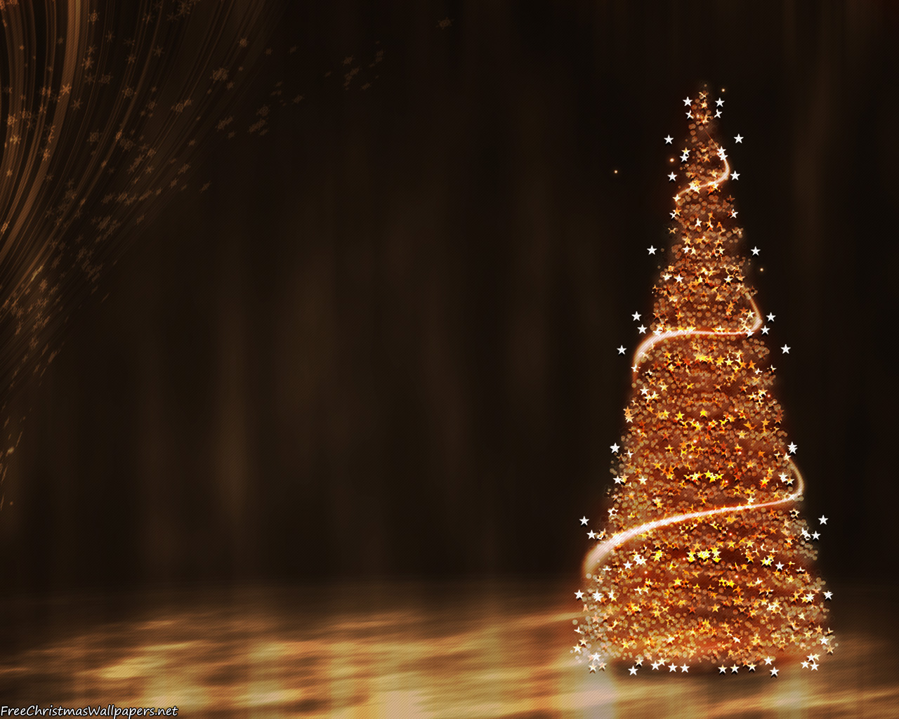 christmas tree desktop background wallpapersafari