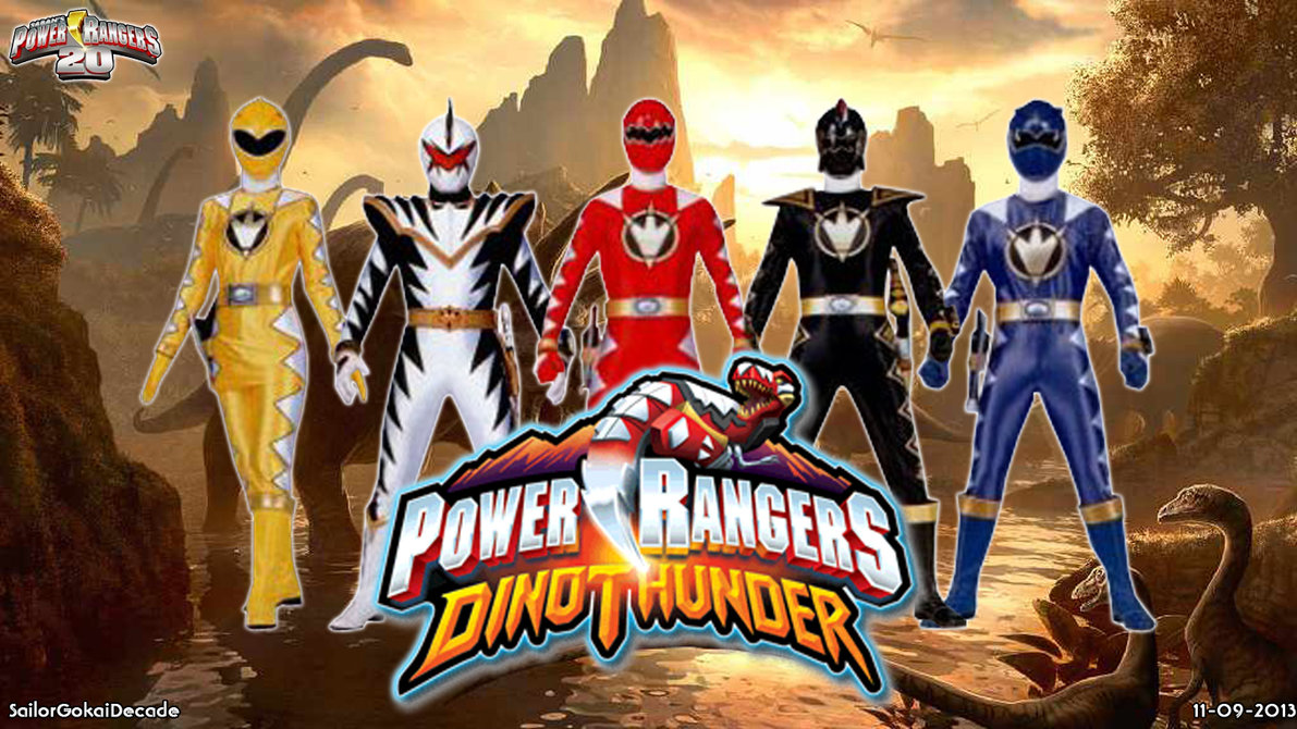 Power Rangers Dino Charge Wallpaper