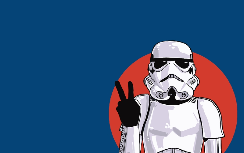 Stormtrooper Wallpaper Art