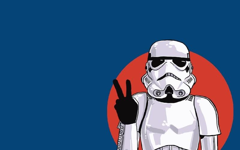 Stormtrooper Wallpaper Art 2 800x500