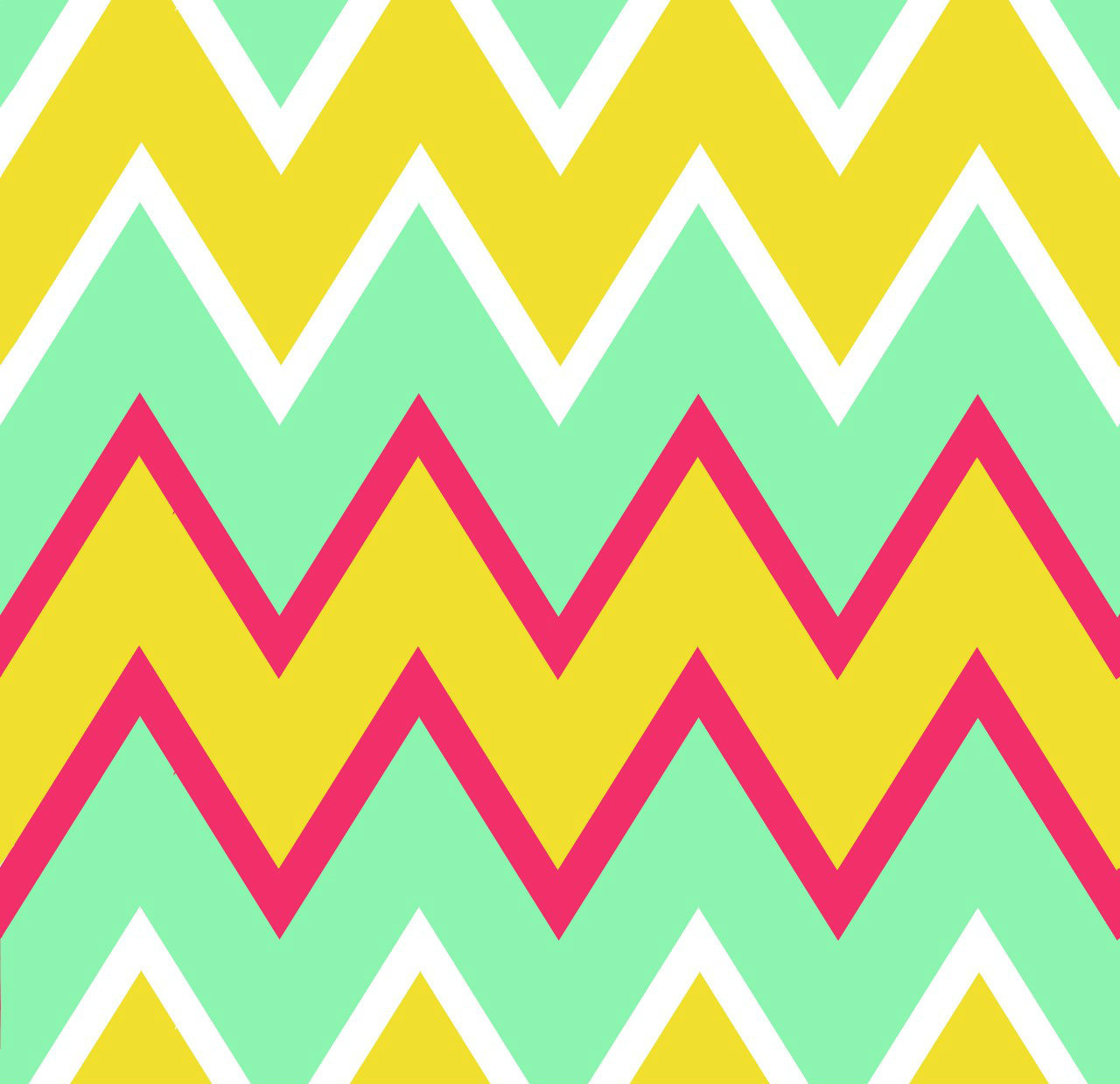 Chevron Mint Pink Yellow   The Paisley Emporium 1280x1239