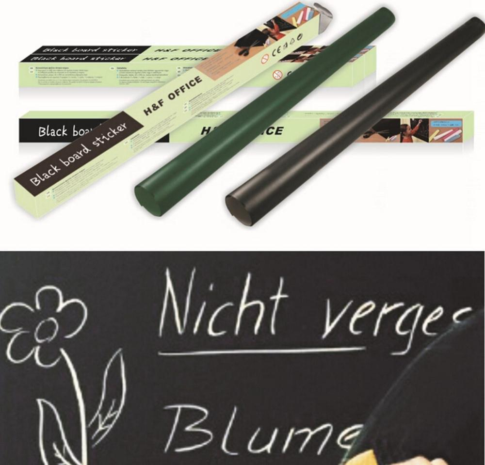 Removable Blackboard Decals Magnetic WallPaper Promotion on Fashion 1000x959