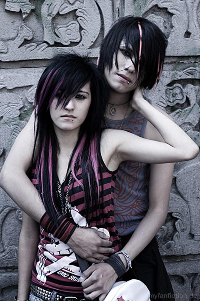 Emo HD iPhone wallpapers Emo Hairstyle Advice background pictures 640x960