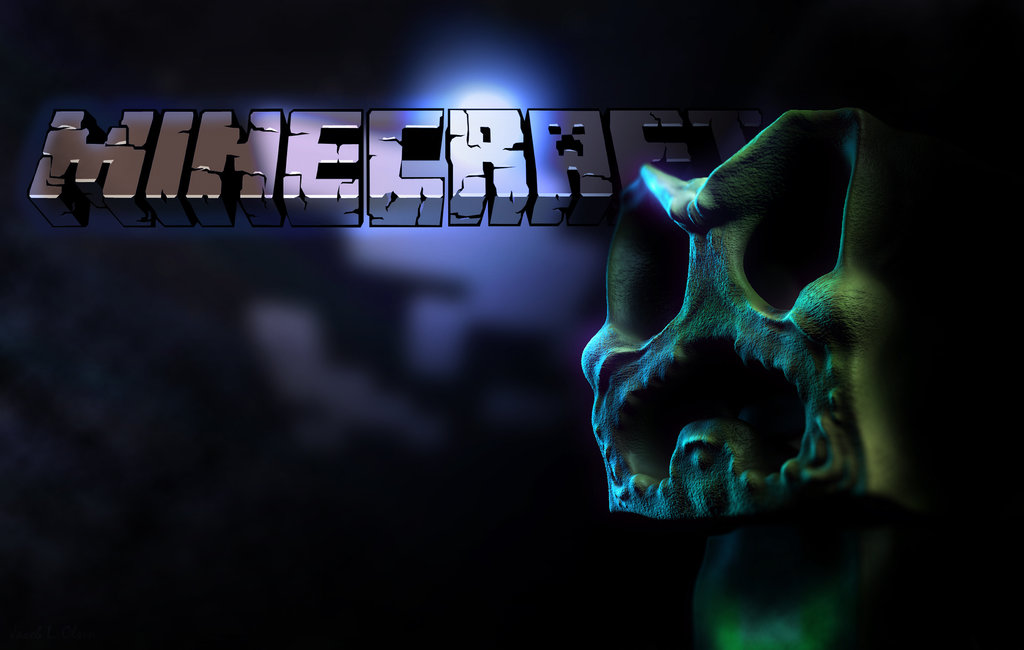 Minecraft Wallpaper Creeper By Lordubbe 1024x650