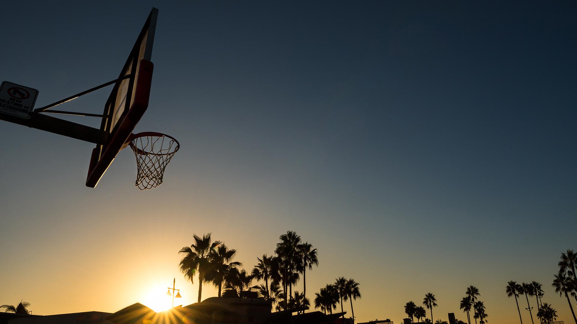 Venice Beach at sunset Los Angeles County California USA 1920x1080