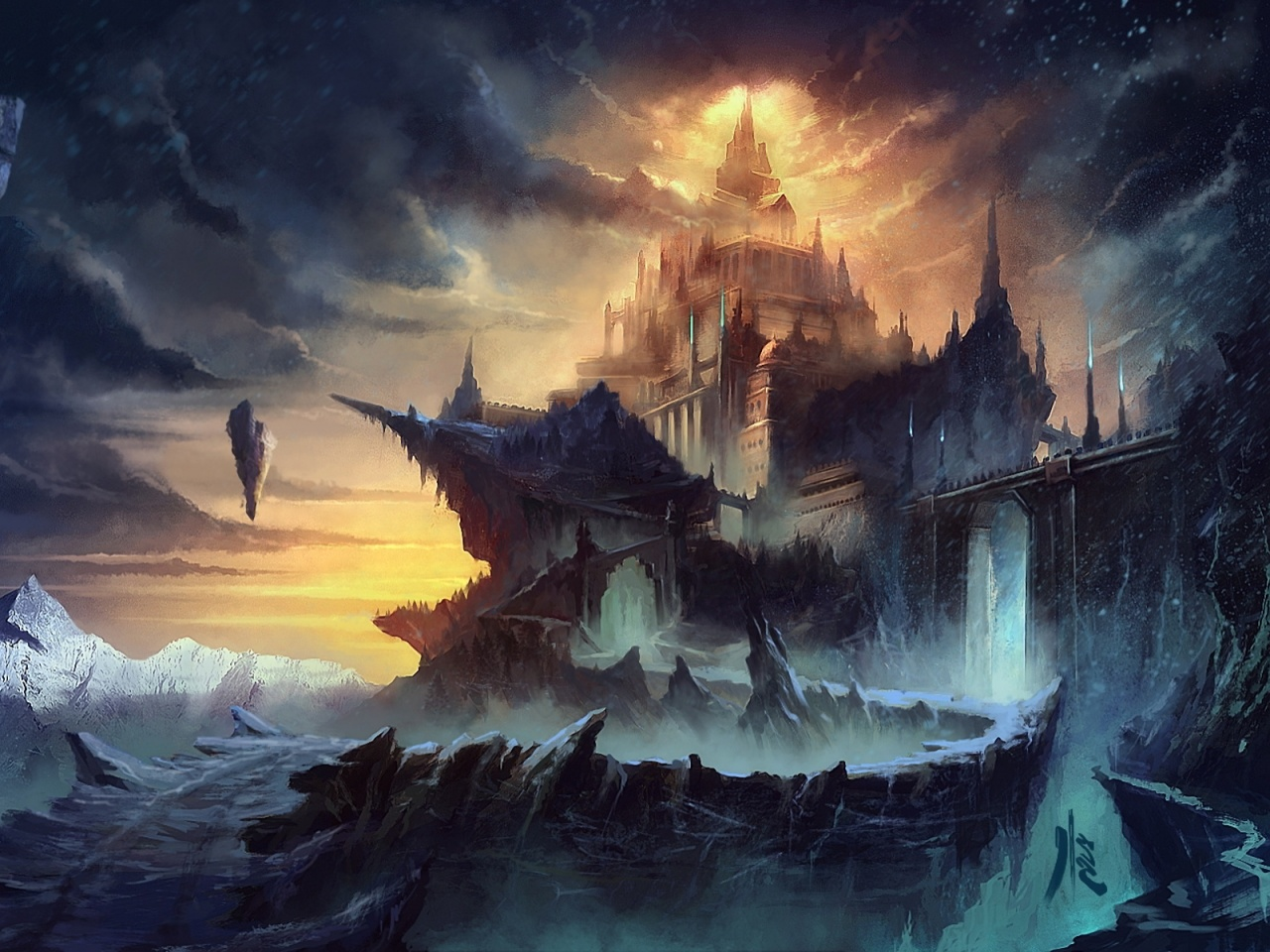 1280x960px fantasy world wallpaper - wallpapersafari