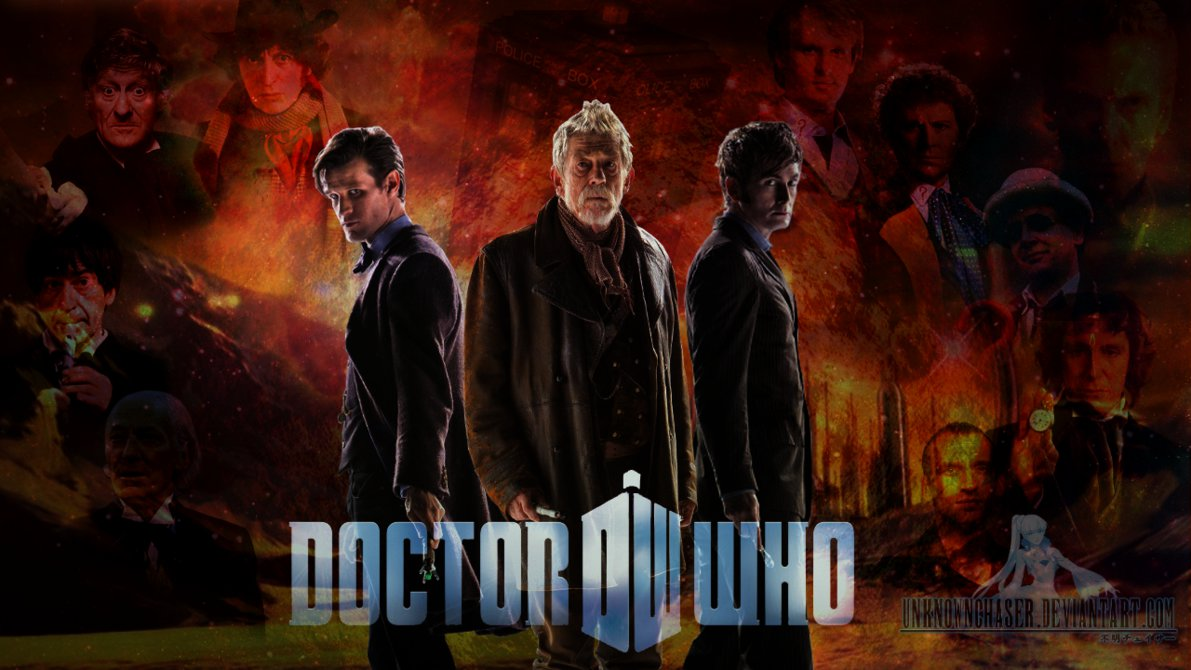 Day of the Doctor Wallpaper by UnknownChaser 1191x670