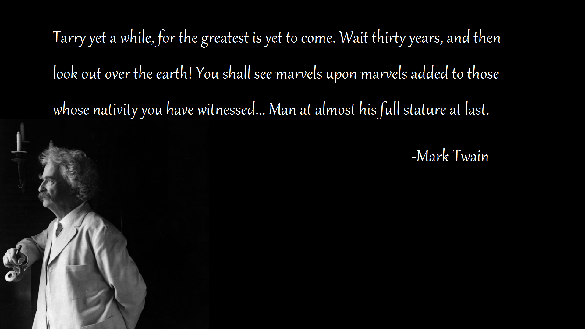 Mark Twain Quotes On Life QuotesGram 1920x1080