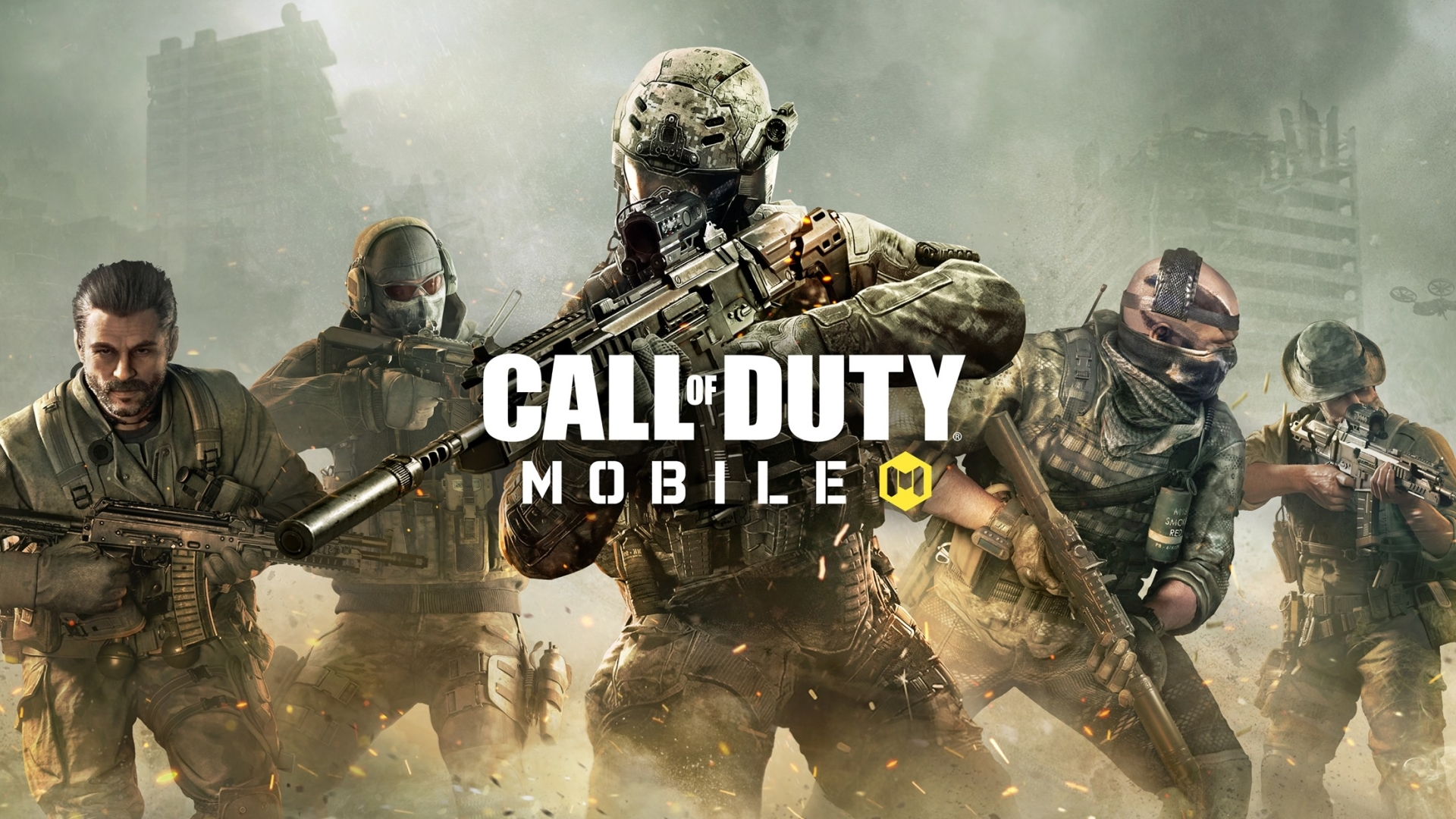 1920x1080 Call Of Duty Mobile Game 1080P Laptop Full HD Wallpaper 1920x1080