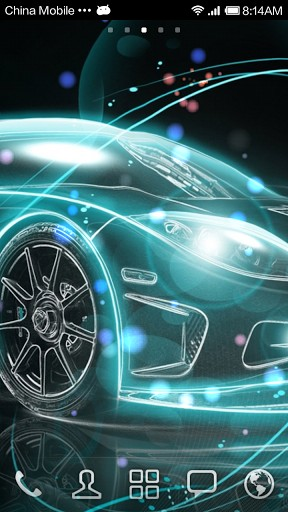 Fantasy Car Live Wallpaper HD App for Android 288x512