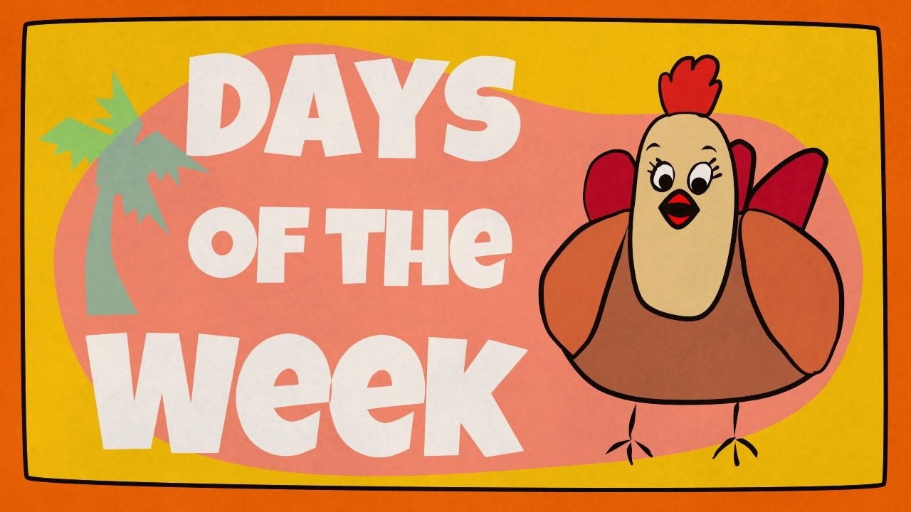 Days Of The Week Song 1308212   HD Wallpaper Backgrounds Download 1280x720
