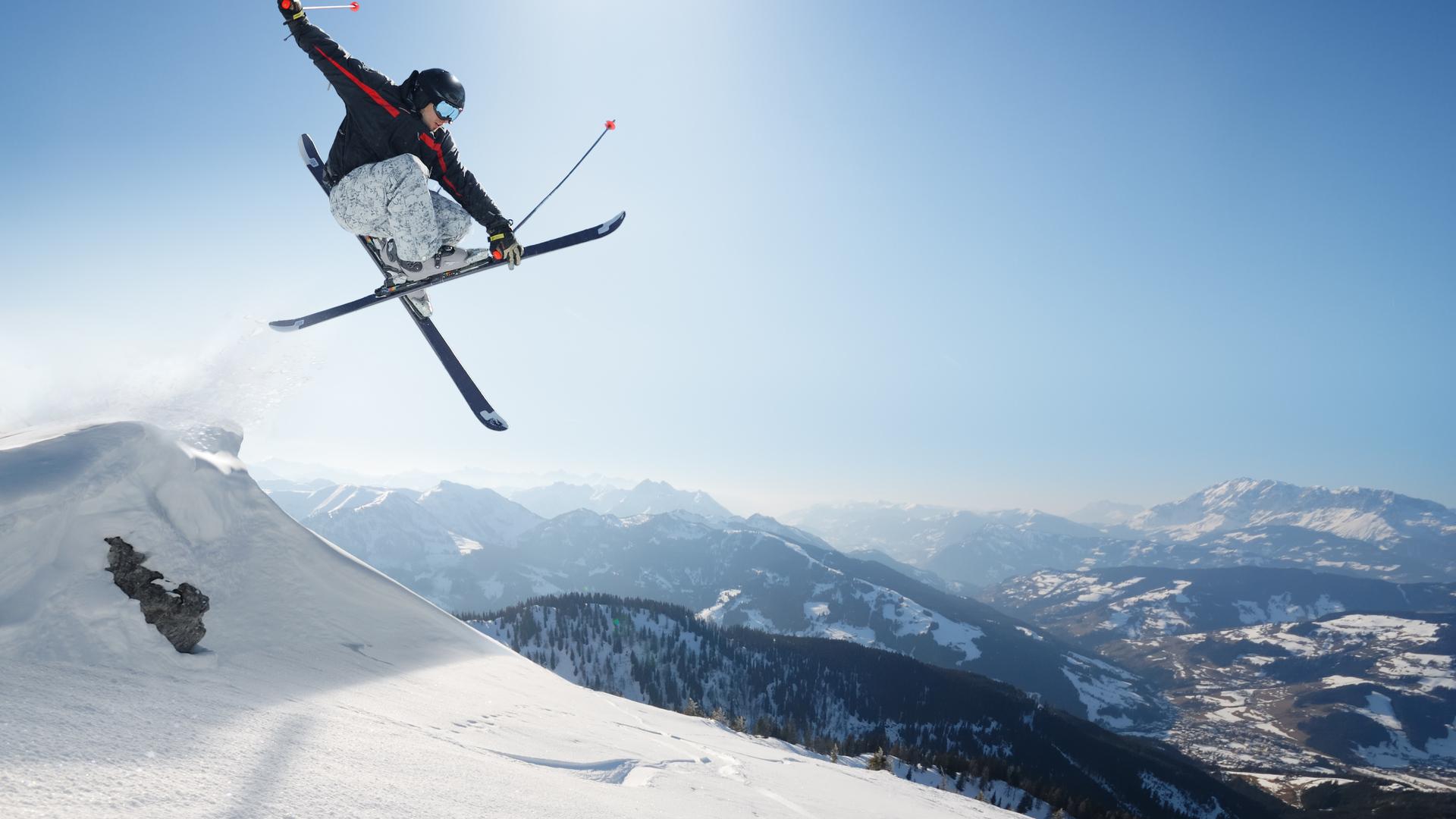 Ski jump 4K Ultra HD wallpaper 4k WallpaperNet 1920x1080