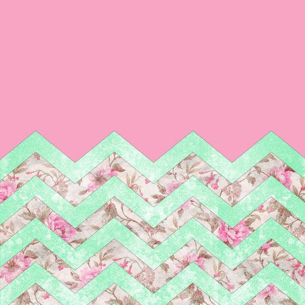 mint green chevron wallpaper wallpapersafari