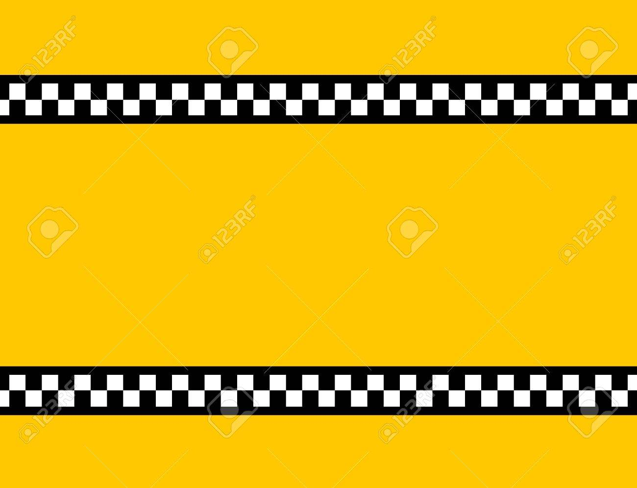 Background Of A Yellow Taxi Cab Without Text Stock Photo Picture 1300x996