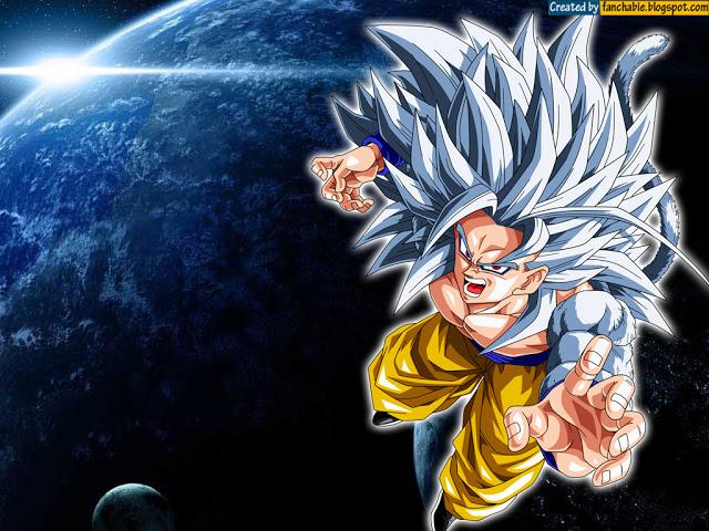 Son Goku Super Saiyan 5 new Wallpaper HD Best Wallpaper 640x480