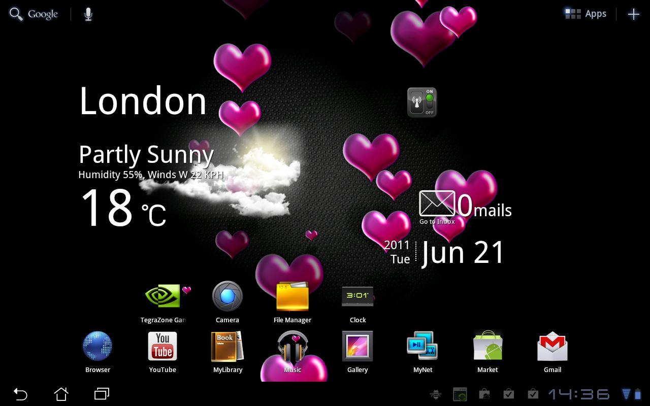 Hearts Live Wallpaper FREE   Android Apps on Google Play 1280x800