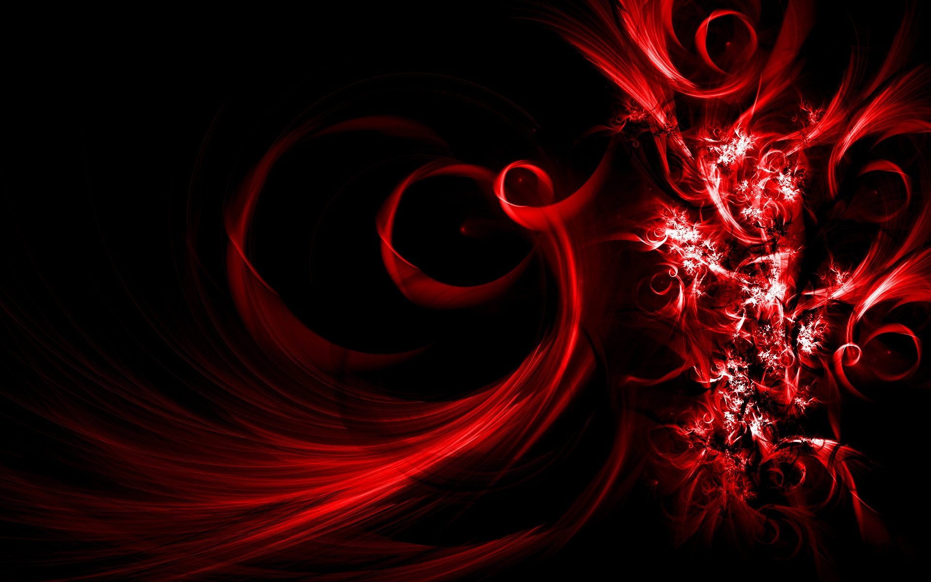 Free download Digital Red Abstract Art ...